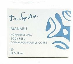 Parfüm, Parfüméria, kozmetikum Krém-peeling testre - Dr. Spiller Manaru Body Peel