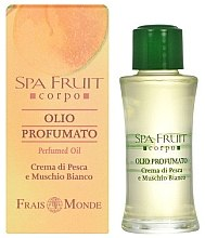 Parfüm, Parfüméria, kozmetikum Frais Monde Spa Fruit Peach And White Musk Perfumed Oil - Parfüm olaj