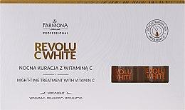Parfüm, Parfüméria, kozmetikum Éjszakai koncentrátum C vitaminnal - Farmona Revolu C White