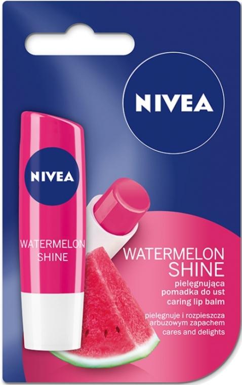 """Ajakbalzsam """"Gyümölcsös ragyogás Görögdinnye"""" - Nivea Fruity Shine Watermelon Lip Balm"""