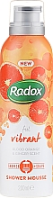 Parfüm, Parfüméria, kozmetikum Tusoló hab - Radox Feel Vibrant Blood Orange & Ginger Scent Shower Mousse