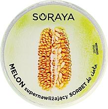 Parfüm, Parfüméria, kozmetikum Hidratáló testápoló sörbet - Soraya Foodie Melon Sorbet
