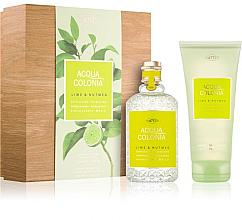 Parfüm, Parfüméria, kozmetikum Maurer & Wirtz 4711 Aqua Colognia Lime & Nutmeg - Szett (col 170ml +sh/gel/200ml)