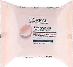 Parfüm, Parfüméria, kozmetikum Sminkeltávolító törlőkendő - L'Oreal Paris Skin Expert Fine Flowers Normal Combination Cleansing Wipes
