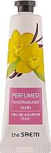 "Parfüm, Parfüméria, kozmetikum Illatosított kézkrém ""Vanília"" - The Saem Perfumed Vanilla Hand Moisturizer"