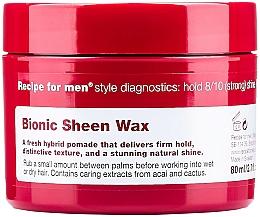 Parfüm, Parfüméria, kozmetikum Hajfényesítő viasz - Recipe for Men Bionic Sheen Wax