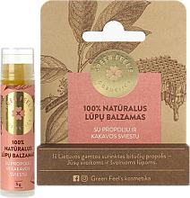 Parfüm, Parfüméria, kozmetikum Ajakbalzsam propolissal és kakaóvajjal - Green Feel's Natural Lip Balm