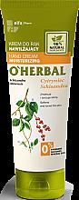 Parfüm, Parfüméria, kozmetikum Hidratáló kézkrém citromfű kivonattal - O'Herbal Moisturizing Hand Cream With Schisandra Extract