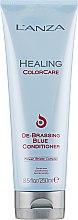 Parfüm, Parfüméria, kozmetikum Vörös színt elfedő kondicionáló - L'anza Healing ColorCare De-Brassing Blue Conditioner