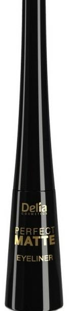Matt, folyékony szemhéjtus - Delia Cosmetics Perfect Matte Eyeliner