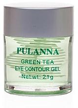Parfüm, Parfüméria, kozmetikum Tonizáló gél szemre - Pulanna Green Tea Eye Countour Gel