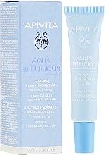Parfüm, Parfüméria, kozmetikum Hidratáló szemkörnyékápoló gél - Apivita Aqua Beelicious Cooling Hydrating Eye Gel