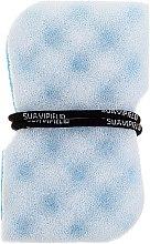 Parfüm, Parfüméria, kozmetikum Masszázs fürdőszívacs, kék - Suavipiel Black Aqua Power Massage Sponge