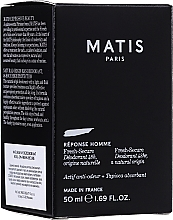 Parfüm, Parfüméria, kozmetikum Dezodor - Matis Reponse Homme Fresh Secure Deodorant 48H Natural Origin