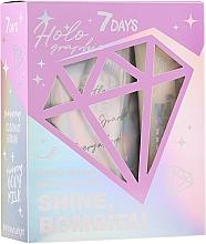 Parfüm, Parfüméria, kozmetikum Szett - 7 Days Shine, Bombita! Holographic (scr/200g + b/milk/150ml)