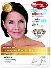 Parfüm, Parfüméria, kozmetikum Arcmaszk - Dermo Pharma Skin Repair Expert Lifting Anti Aging Mask 4D