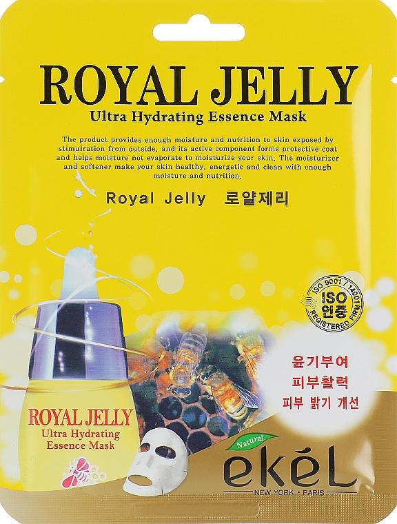 Méhpempő tápláló szövetmaszk - Ekel Royal Jelly Hydrating Essence Mask