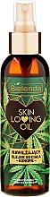 "Parfüm, Parfüméria, kozmetikum Hidratáló testápoló olaj ""Kender"" - Bielenda Skin Loving Oil Moisturizing Body Oil Hemp"