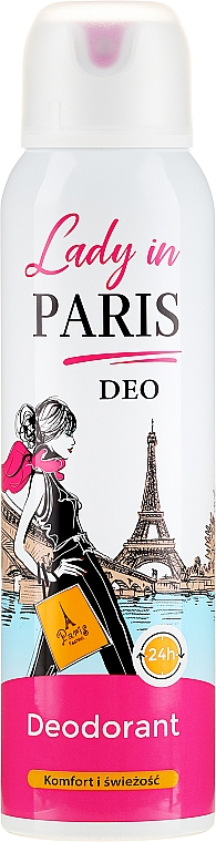 Dezodor - Lady In Paris Deodorant