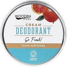 Parfüm, Parfüméria, kozmetikum Dezodor-krém - Wooden Spoon Go Fresh Cream Deodorant