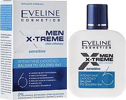 Parfüm, Parfüméria, kozmetikum Borotválkozás utáni balzsam 6 az 1-ben - Eveline Cosmetics Men Extreme Sensitive