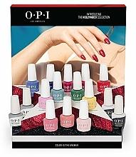 Parfüm, Parfüméria, kozmetikum Készlet - O.P.I Gel Color Hollywood Spring 2021 16pc Salon Display