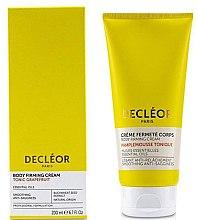 Parfüm, Parfüméria, kozmetikum Tápláló és rugalmasító krém - Decleor Tonic Grapefruit Body Firming Cream