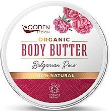 """Parfüm, Parfüméria, kozmetikum Test vaj """"Bolgár rózsa"""" - Wooden Spoon Bulgarian Rose Body Butter"""