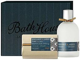 Parfüm, Parfüméria, kozmetikum Bath House Bergamot & Amber - Szett (edc/100ml + soap/150g)
