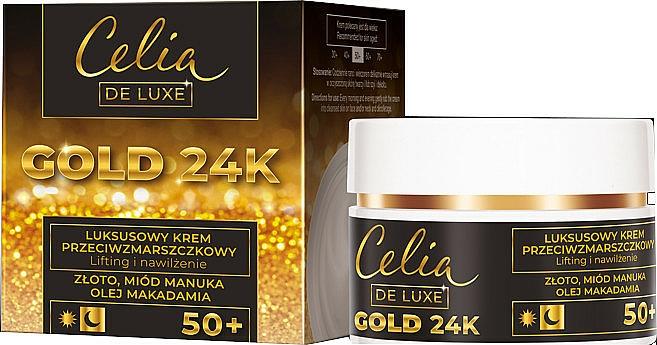 Ránctalanító krém 50+ - Celia De Luxe Gold 24k