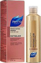 """Parfüm, Parfüméria, kozmetikum Sampon """"Intenzív táplálás"""" száraz hajra - Phyto Phytoelixir Shampooing Nutrition Intense"""