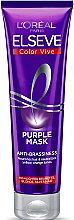Parfüm, Parfüméria, kozmetikum Tonizáló maszk szőkített, melírozott és hamvas hajra - L'Oreal Paris Elseve Purple