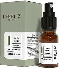 """Parfüm, Parfüméria, kozmetikum Olajos szájüreg spray """"Olíva"""" 10% - Herbliz CBD Olive Fresh Oil Mouth Spray 10%"""