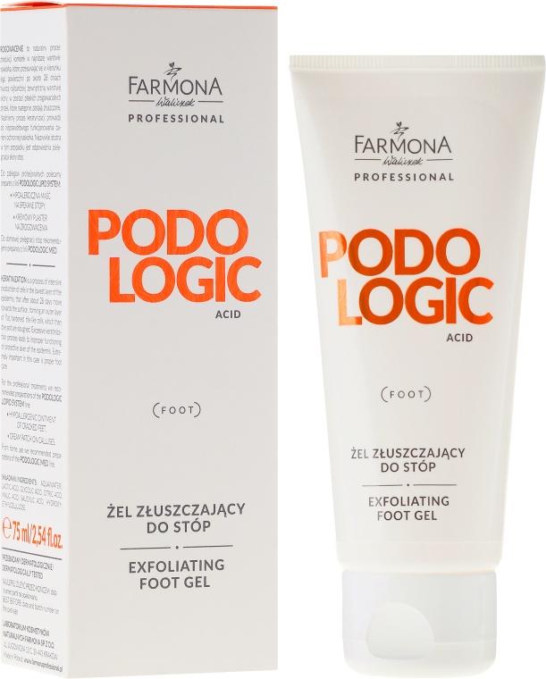Hámlasztó gél lábra - Farmona Professional Podologic Acid Foot Gel Exfoliating