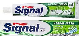 """Parfüm, Parfüméria, kozmetikum Fogkrém """"Herbal Fresh"""" - Signal Family Herbal Fresh Toothpaste"""