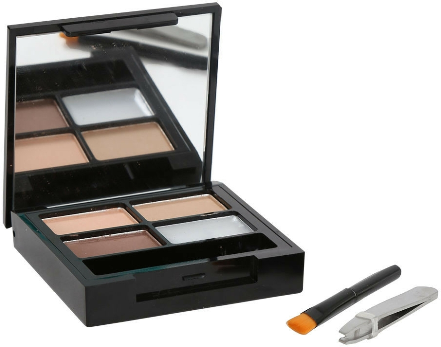 Szemöldök szett - Makeup Revolution Focus & Fix Brow Kit