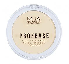 Parfüm, Parfüméria, kozmetikum Kompakt matt arcpúder - MUA Pro-Base Full Coverage Matte Pressed Powder
