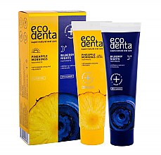 Parfüm, Parfüméria, kozmetikum Készlet - Ecodenta (toothpast/50ml + toothpast/50ml)
