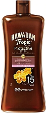 Parfüm, Parfüméria, kozmetikum Napvédő szárazolaj SPF15 - Hawaiian Tropic Protective Oil SPF 15