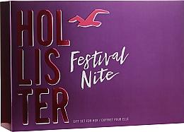 Parfüm, Parfüméria, kozmetikum Hollister Festival Nite For Her - Szett (edp/100ml + b/lot/100ml + acc)