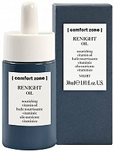 Parfüm, Parfüméria, kozmetikum Éjszakai tápláló vitamin arcolaj - Comfort Zone Renight Nourishing Vitamin Oil