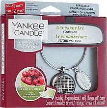Parfüm, Parfüméria, kozmetikum Autóillatosító - Yankee Candle Charming Scents Black Cherry Linear