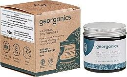 Parfüm, Parfüméria, kozmetikum Természetes fogkrém - Georganics English Peppermint Natural Toothpaste
