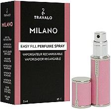 Parfüm, Parfüméria, kozmetikum Szórófejes parfüm utántöltő palack - Travalo Milano Pink Rose