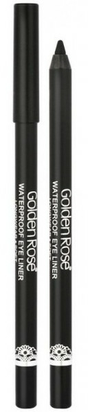 Vízálló szemceruza ultra black - Golden Rose Waterproof Eyeliner Longwear & Soft Ultra Black