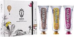 "Parfüm, Parfüméria, kozmetikum Készlet ""Wonders of the World"" - Marvis Set (toothpaste/3x25ml)"