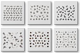 Parfüm, Parfüméria, kozmetikum Körömmatrica szett 42935 - Top Choice Nail Decorations Stickers Set
