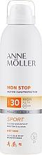 Parfüm, Parfüméria, kozmetikum Napvédő spray - Anne Moller Non Stop Active Sun Invisible Mist SPF30