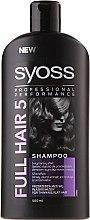 Parfüm, Parfüméria, kozmetikum Dús hatást biztosító sampon vékony szálú hajra - Syoss Full Hair 5 Shampoo