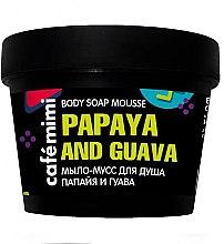 """Parfüm, Parfüméria, kozmetikum Fürdő szappan-mousse """"Papaya és guava"""" - Cafe Mimi Body Soap Mousse Papaya And Guava"""